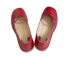 Free Red Shoes Royalty Free Stock Photo - 15279405