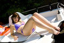 Free Relaxing Girl Stock Photos - 15279843