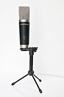 Free Professional Microphone Stock Image - 15279971