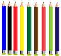 Free Colorful Pencil Set Royalty Free Stock Image - 15282066