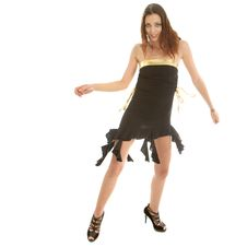 Young Stylish Dancer Stock Photo