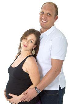 Young Couple Awaiting First Child Stock Photos