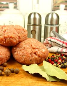 Free Meat Praparing For Cooking Stock Photos - 15280233