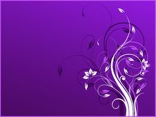 Free Vector Background With Violet And White Colors And Stock Image - 15280491