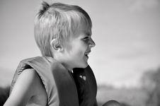 Free Boy In Lifejacket Royalty Free Stock Photo - 15280705
