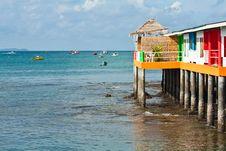 Free Sea View Royalty Free Stock Photos - 15281598