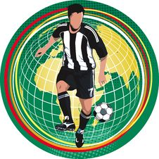 Free Soccer Player Stock Images - 15282374