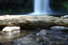Free Time Passing At Horsetail Falls Stock Photo - 15282720