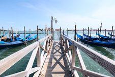Free Venice Gondola Boats Stock Images - 15282744