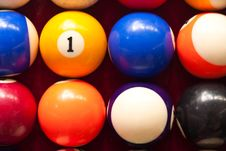 Ball Color Royalty Free Stock Photos