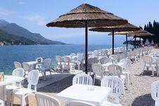 Free Cafe By Lake Garda Stock Photo - 15283140