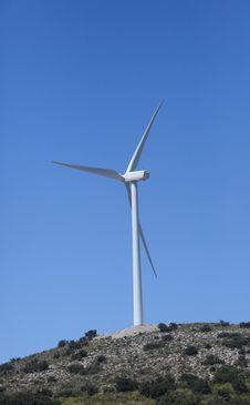 Free Wind Turbine Royalty Free Stock Photos - 15284258