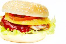 Free Hamburger Royalty Free Stock Image - 15288226