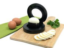 Egg Slicer Stock Photography