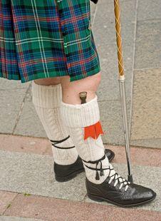 Free Highland Dress; Details. Royalty Free Stock Photos - 15288828