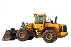 Free Cut Out Tractor On White Background Royalty Free Stock Photos - 15289328