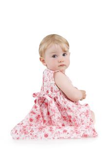 Beautiful Little Girl Stock Image