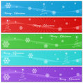 Free Christmas Banners Stock Photography - 15292402