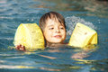 Free Kid In Pool Royalty Free Stock Images - 15299499
