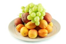 Free Fruit On A Platter Stock Photo - 15290800