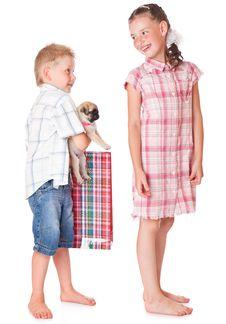 Free Boy And Girl Stock Image - 15291541