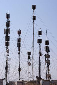 Free Sky Blue Communication Stock Photography - 15291572