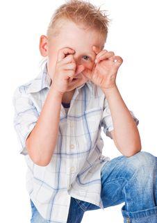 Free Little Boy Stock Photography - 15291642