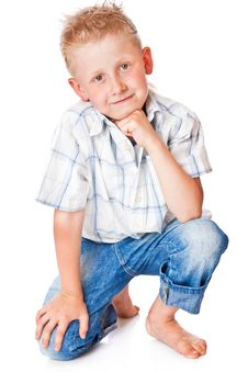 Free Little Boy Royalty Free Stock Image - 15291646