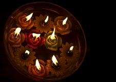 Free Floating Candles Royalty Free Stock Image - 15291846