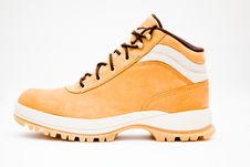 Peach-yellow Hiking Boot
