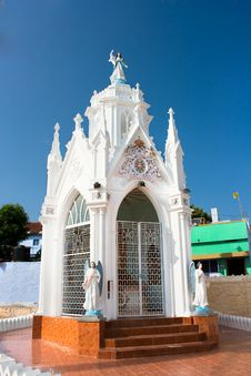Free Chapel Of Catholic  Church In Kanyakumari Stock Photography - 15292752