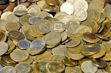Free Coins Royalty Free Stock Images - 15293509