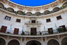 Free Plaza Del Cabildo, Seville Royalty Free Stock Photography - 15293887