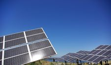 Free Central Of Photovoltaic Panels. Royalty Free Stock Images - 15295519