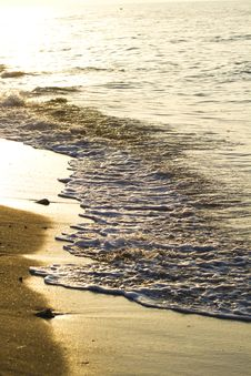Gorgeous Spanish Beach Stock Image
