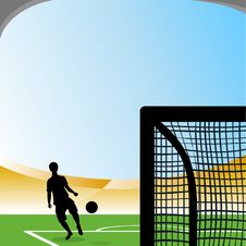 Free Soccer Attack Royalty Free Stock Image - 15295916