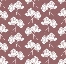 Free Seamless Floral Background Royalty Free Stock Photos - 15296158