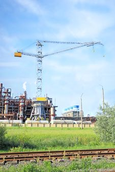 Free Chemical Plant Stock Photos - 15296693
