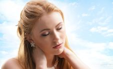 Free Portrait Of A Young And Attractive Redhead Girl Stock Photography - 15296772