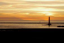 Free The Lighthouse At Cap De La Hague Stock Photos - 15296843