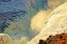 Free The Sheer Power Of Gulfoss - Iceland Stock Photography - 15297152
