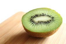 Free Half Slice Of A Kiwi Stock Photos - 15298123