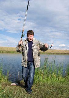 Free Fishman Stock Photography - 15299012