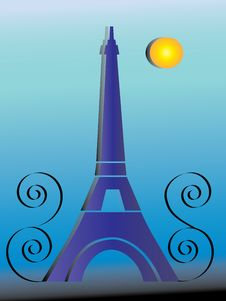 Free Eiffel Tower Royalty Free Stock Photography - 15299127