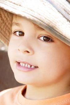 Pretty Kid Royalty Free Stock Photo
