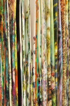 Colorful Sari Stock Image