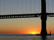 Free San Francisco Sunset. Royalty Free Stock Image - 152913146