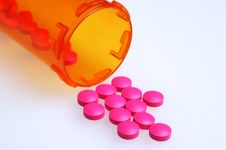 Free Pills And Container Stock Photo - 1530970