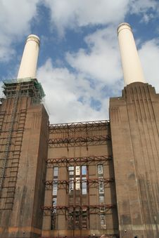 Free Battersea Power Station Royalty Free Stock Image - 1531826