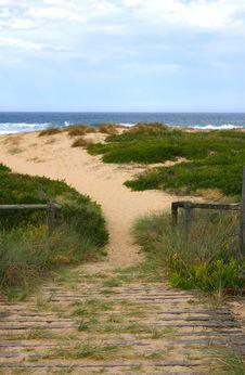 Free Beach Walk Royalty Free Stock Photo - 1532205